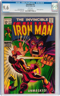 Silver Age (1956-1969):Superhero, Iron Man #11 (Marvel, 1969) CGC NM+ 9.6 White pages....