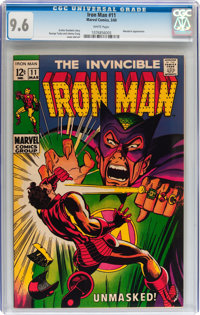 Iron Man #11 (Marvel, 1969) CGC NM+ 9.6 White pages