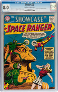 Silver Age (1956-1969):Science Fiction, Showcase #16 Space Ranger (DC, 1958) CGC VF 8.0 Off-white to white pages....