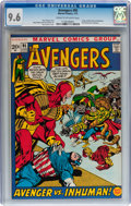 Bronze Age (1970-1979):Superhero, The Avengers #95 (Marvel, 1972) CGC NM+ 9.6 Cream to off-white pages....