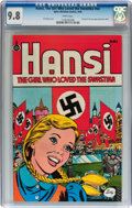 Bronze Age (1970-1979):Miscellaneous, Hansi, The Girl Who Loved the Swastika #nn (Spire Christian Comics,1976) CGC NM/MT 9.8 White pages....