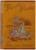 Books:Fiction, Robert Louis Stevenson. Treasure Island. Boston: RobertsBrothers, 1892. Later edition. Publisher's printed boards. ...