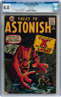 Silver Age (1956-1969):Horror, Tales to Astonish #20 (Marvel, 1961) CGC VG 4.0 White pages....