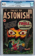 Silver Age (1956-1969):Horror, Tales to Astonish #21 (Marvel, 1961) CGC VG+ 4.5 Cream to off-whitepages....