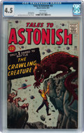 Silver Age (1956-1969):Horror, Tales to Astonish #22 (Marvel, 1961) CGC VG+ 4.5 White pages....