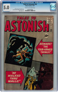 Silver Age (1956-1969):Horror, Tales to Astonish #26 (Marvel, 1961) CGC VG/FN 5.0 Cream tooff-white pages....