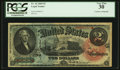 Large Size:Legal Tender Notes, Fr. 42 $2 1869 Legal Tender Courtesy Autograph PCGS Very Fine 30.. ...