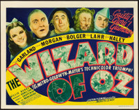 "The Wizard of Oz (MGM, 1939). Title Lobby Card (11"" X 14"")"