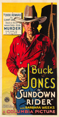 "Movie Posters:Western, Sundown Rider (Columbia, 1932). Three Sheet (41"" X 80.75"").. ..."