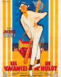 "Movie Posters:Foreign, Mr. Hulot's Holiday (Disci Film, 1953). French Grande (47.5"" X63"").. ..."