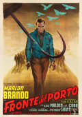 "Movie Posters:Academy Award Winners, On the Waterfront (Columbia, 1954). Italian 4 - Foglio (55"" X78"").. ..."