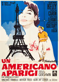 "Movie Posters:Musical, An American in Paris (MGM, 1951). Italian 4 - Foglio (55"" X 78"")....."