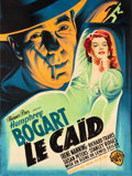 "Movie Posters:Crime, The Big Shot (Warner Brothers, 1949). First Post War Release FrenchGrande (45"" X 61"").. ..."