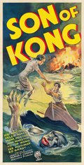 "Movie Posters:Horror, Son of Kong (RKO, 1933). Three Sheet (41"" X 81"") Style B.. ..."