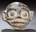 Pre-Columbian:Ceramics, A VERACRUZ MONKEY HEAD. c. 600 - 900 AD. ...