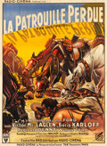 "Movie Posters:War, The Lost Patrol (RKO, 1934). French Grande (47"" X 63"").. ..."