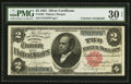Large Size:Silver Certificates, Fr. 246 $2 1891 Silver Certificate Courtesy Autograph PMG Very Fine 30 EPQ.. ...