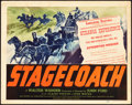 "Movie Posters:Western, Stagecoach (United Artists, 1939). Title Lobby Card (11"" X 14"")....."
