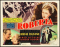 "Movie Posters:Musical, Roberta (RKO, 1935). Title Lobby Card (11"" X 14"").. ..."