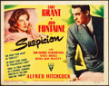"Movie Posters:Hitchcock, Suspicion (RKO, 1941). Title Lobby Card (11"" X 14"").. ..."