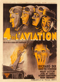 "Movie Posters:Drama, The Lost Squadron (Cinelux, 1932). French Grande (47"" X 63.25"")....."