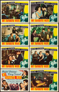 "Movie Posters:Comedy, My Favorite Wife (RKO, 1940). Lobby Card Set of 8 (11"" X 14"").. ...(Total: 8 Items)"