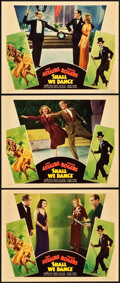 "Movie Posters:Musical, Shall We Dance (RKO, 1937). Lobby Cards (3) (11"" X 14"").. ...(Total: 3 Items)"