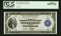 Fr. 730 $1 1918 Federal Reserve Bank Note PCGS Gem New 66PPQ