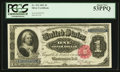 Large Size:Silver Certificates, Fr. 223 $1 1891 Silver Certificate PCGS About New 53PPQ.. ...