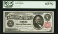 Large Size:Silver Certificates, Fr. 267 $5 1891 Silver Certificate PCGS Gem New 66PPQ.. ...