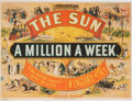 "Miscellaneous:Ephemera, Lithograph: ""The Sun.""..."