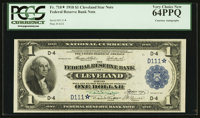 Fr. 718* $1 1918 Federal Reserve Bank Note PCGS Very Choice New 64PPQ