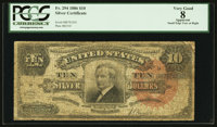 Fr. 294 $10 1886 Silver Certificate PCGS Apparent Very Good 08