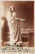 "Autographs:Celebrities, Ellen Terry. Signed Photograph, inscribed with a version of a line of Lady Macbeth: ""All the Waters of Arabia / will not sweet..."