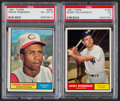 Baseball Cards:Lots, 1961 Topps Baseball Collection (460) Including 3 Mickey Mantlecards! ...