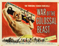 "Movie Posters:Science Fiction, War of the Colossal Beast (American International, 1958). HalfSheet (22"" X 28"").. ..."