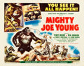"""Movie Posters:Horror, Mighty Joe Young (RKO, 1949). Half Sheet (22"""" X 28"""") Style A.. ..."""