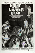 """Movie Posters:Horror, Night of the Living Dead (Killian Enterprises, R-1993). Autographed 25th Anniversary Mylar One Sheet (27"""" X 41"""") Style A.. ..."""
