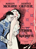 """Movie Posters:Romance, The Prince and the Showgirl (Warner Brothers, 1957). German A1 (24.5"""" X 33.5"""").. ..."""