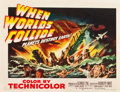 "Movie Posters:Science Fiction, When Worlds Collide (Paramount, 1951). Half Sheet (22"" X 28"") StyleB.. ..."