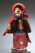 American Indian Art:Pottery, A MOHAVE PAINTED POTTERY DOLL . c. 1910...