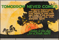 "Tomorrow Never Comes (Mather and Company, 1923). Motivational Poster (41.5"" X 28""). Miscellaneous"