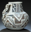 American Indian Art:Pottery, AN ANASAZI BLACK-ON-WHITE PITCHER. c. 1100 - 1200 ...
