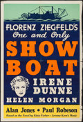 "Movie Posters:Musical, Show Boat (Universal, 1936). Leader Press One Sheet (28"" X 41""). Musical.. ..."