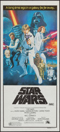"Movie Posters:Science Fiction, Star Wars (20th Century Fox, 1977). Australian Daybill (13.5"" X30"") Style C. Science Fiction.. ..."
