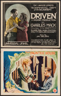 """Movie Posters:Horror, The Haunted House & Other Lot (First National, 1928). Lobby Card & Title Lobby Card (11"""" X 14""""). Horror.. ... (Total: 2 Items)"""