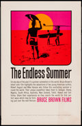 "Movie Posters:Sports, The Endless Summer (Cinema 5, 1966). Special Poster (11"" X 17"").Sports.. ..."