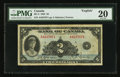 Canadian Currency: , BC-3 $2 1935. ...