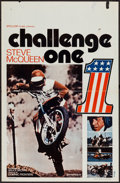 """Movie Posters:Documentary, On Any Sunday (Stellor Films, 1971). Belgian (14"""" X 21.5""""). Documentary. Also Known As: Challenge One.. ..."""