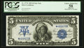 Large Size:Silver Certificates, Fr. 277* $5 1899 Silver Certificate PCGS Apparent Choice About New58.. ...
